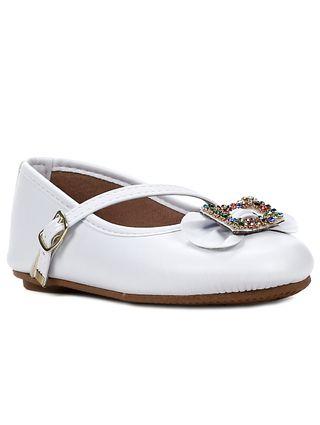 Sapato para Bebe Menina - Branco