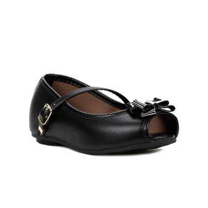 Sapato para Bebe Menina - Preto 21