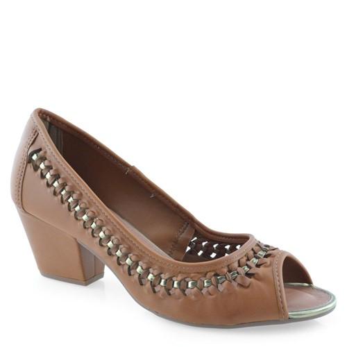 Sapato Peep Toe Dakota B8492 B8492