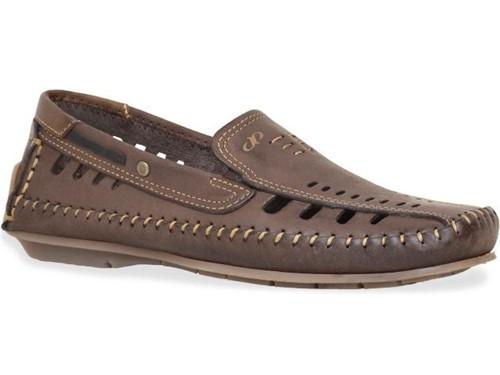 Sapato Pegada Mocassim Cravo