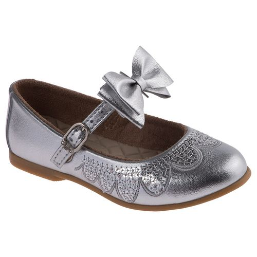 Sapato Princesa Premium Prata - 20