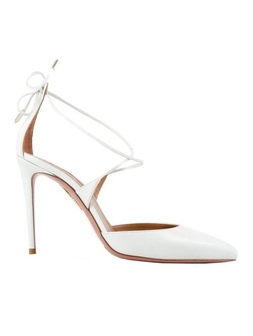 Sapato Salto Alto Very Matilde 105 Branco Tamanho 38