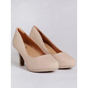 Sapato Scarpin Feminino Bege 38