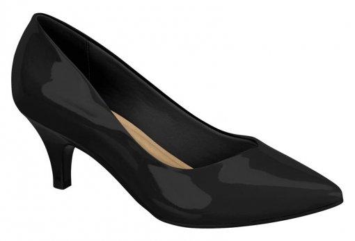 Sapato Scarpin Feminino Beira Rio Salto Baixo 40761001 Preto 40761001