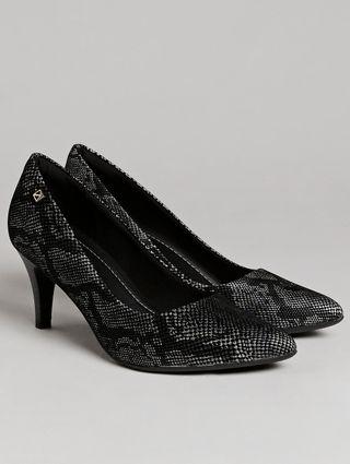 Sapato Scarpin Feminino Piccadilly Preto