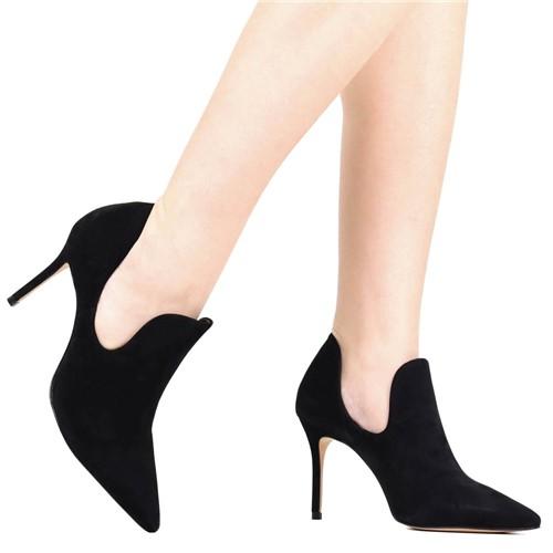 Sapato Scarpin Schutz Bico Fino Preto