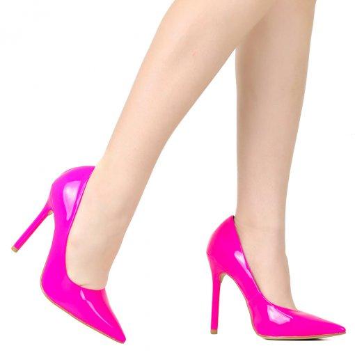 Sapato Scarpin Zariff Salto Alto Verniz | Betisa