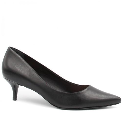 Sapato Schutz Scarpin Salto Fino Preto