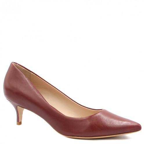 Sapato Schutz Scarpin Salto Fino Vermelho