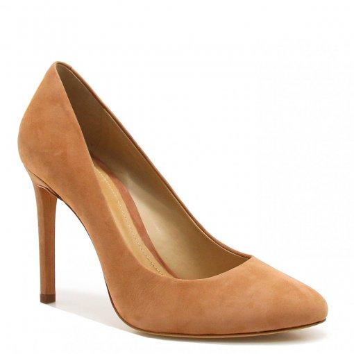 Sapato Schutz Scarpin Salto Nobuck 043030003 | Betisa