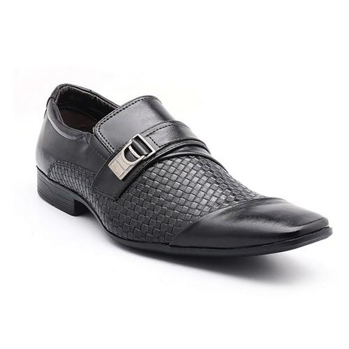 Sapato Social Bertelli Trissê Preto 60021