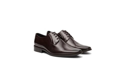 Sapato Social Clássico Amarração - Marrom - 40
