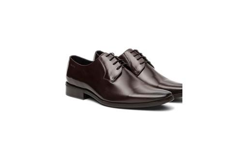 Sapato Social Clássico Amarração - Marrom - 38