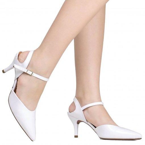 Sapato Vizzano Noivas Bico Fino Verniz | Betisa