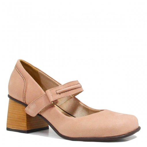 Sapato Zariff Shoes Scarpin Salto Velcro 302.04 | Betisa