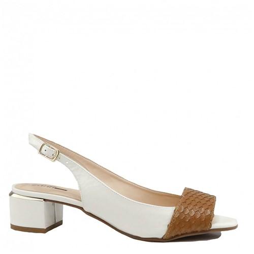 Sapato Zariff Shoes Verniz Branco
