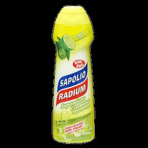 Saponáceo Cremoso Sapólio Radium Multissuperfícies Limão 300ml