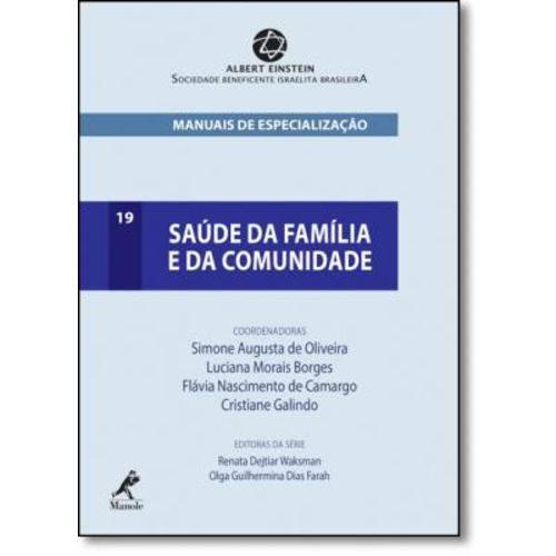 Saúde da Família e da Comunidade: Manuais de Especialização