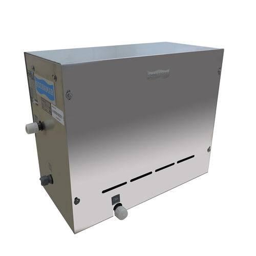 Sauna a Vapor Elétrica Steam Inox de 6kw Até 6m³- Sodramar
