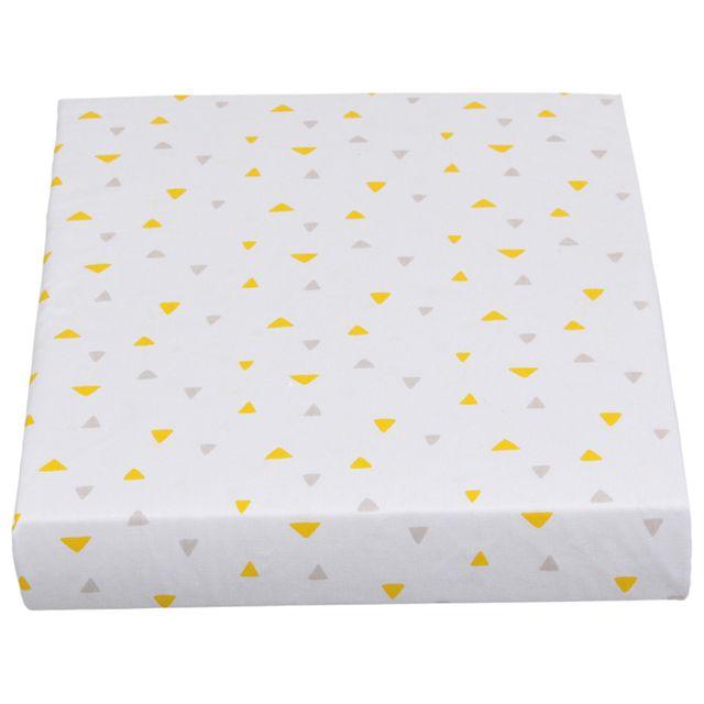 Savana Lençol C/ Elástico Solt 88x188x30 Cinza/amarelo