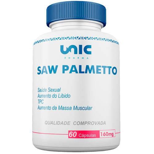Saw Palmetto 160mg 60 Cáps Unicpharma