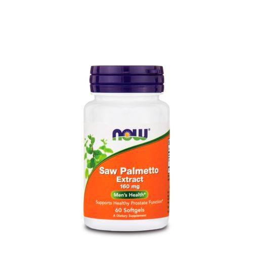 Saw Palmetto Extract 160mg (60 Caps) Now Foods