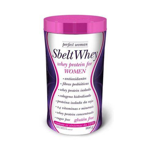 Sbelt Whey Woman 900g Pt