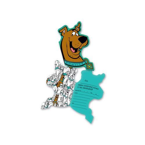 Scooby Doo Convite 2017 C/8 - Festcolor