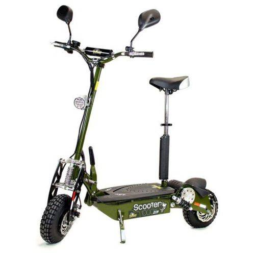 Scooter Eletrica 48v 1000w Two Dogs Verde Oliva