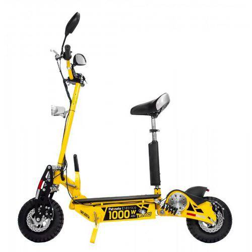 Scooter Elétrico Two Dogs 1000W 48V Amarelo