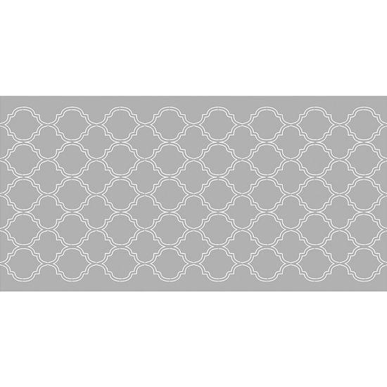 Scrap Embelezadores Cardboard Litoarte Sce-006 Aplique Padrão Marroquino