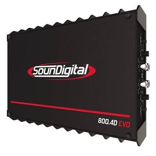 Sd800.4 Soundigital Modulo Sd 800w Rms Mono Estereo 2 Ohms