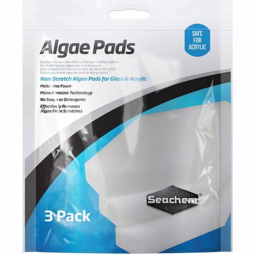 Seachem Algae Pads Esponja P/ Limpeza de Vidros e Acrilicos em Aquários - Un