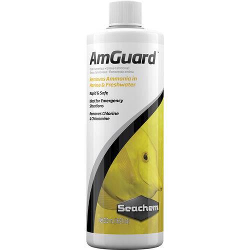Seachem Amguard 500ml Remove Amonia e Cloro do Aquário Água
