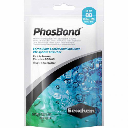 Seachem Phosbond 100Ml Removedor de Fosfato e Silicato