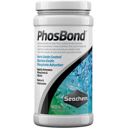 Seachem Phosbond 250ml Remove Fosfato Silicato Trata 1600l
