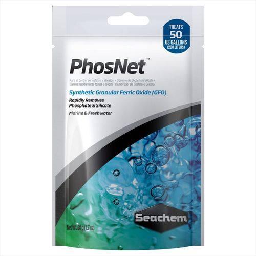 Seachem - Phosnet - Removedor de Fosfato e Silicato - 50g