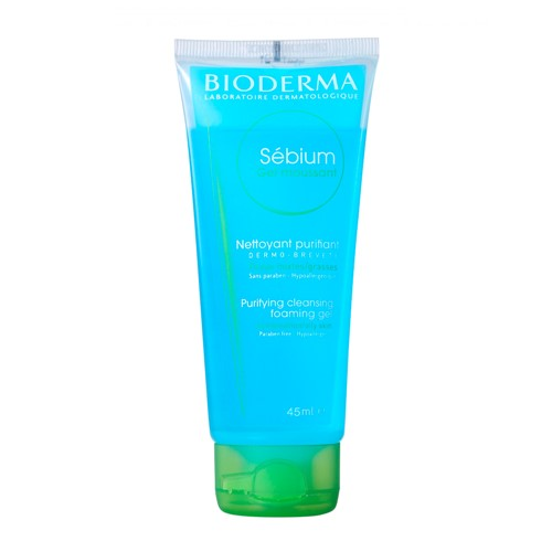 Sébium Gel Moussant Bioderma Gel de Limpeza Facial 45ml