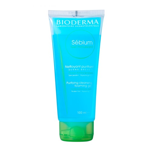 Sébium Gel Moussant Bioderma Gel de Limpeza Facial com 100ml