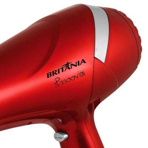 Secador Profissional Britânia Sp3300v 1900w 3 Temperaturas 2 Velocidades 220v