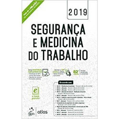 Segurança e Medicina do Trabalho 2019 - Atlas