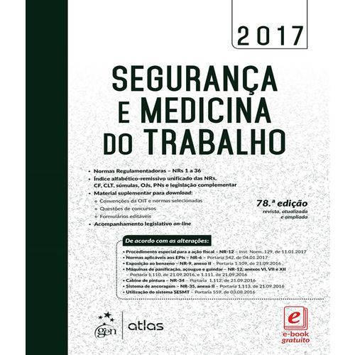 Seguranca e Medicina do Trabalho - 78 Ed