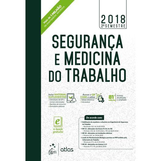 Seguranca e Medicina do Trabalho - Atlas - 81ed
