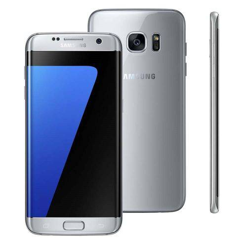 Seminovo: Galaxy S7 Edge 32gb Prata Usado