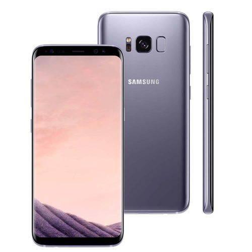 Seminovo: Galaxy S8 4g 64gb G950fd Orquídea Usado