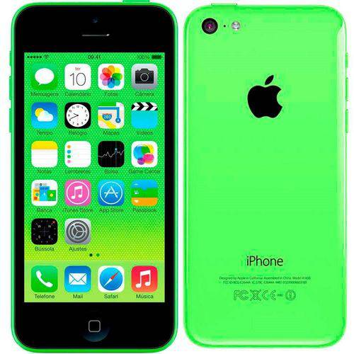 Seminovo: Iphone 5c Apple 16gb Verde Usado