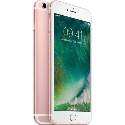 Seminovo: Iphone 6s Apple 16gb Rosa Usado