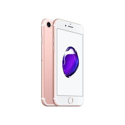 Seminovo: Iphone 7 Apple 128gb Rosa Usado