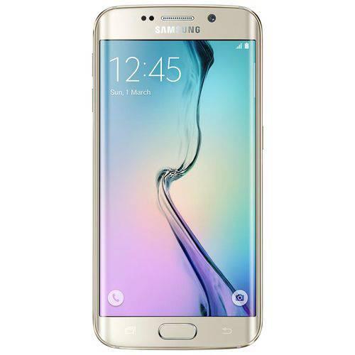 Seminovo: Samsung Galaxy S6 Edge 32gb Dourado Usado
