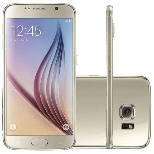 Seminovo: Samsung Galaxy S6 G920f 32gb Dourado